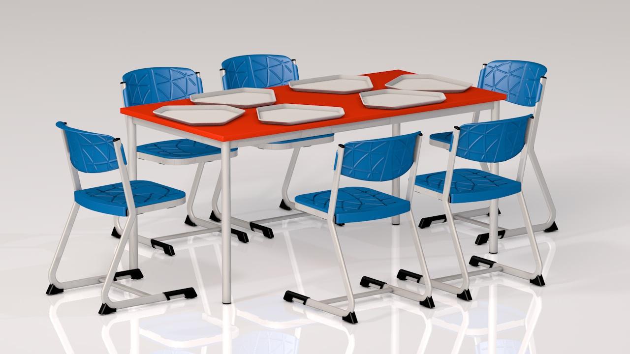 iskola étkező asztal szék